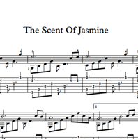 Picture of The Scent Of Jasmine Sheet Music & Tabs